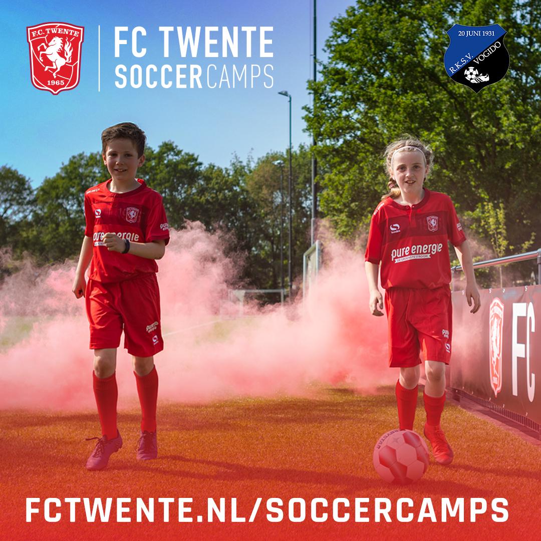 FC Twente bij ons op bezoek in de zomervakantie!