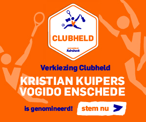 Club held Vogido Kristian Kuipers, nu stemmen