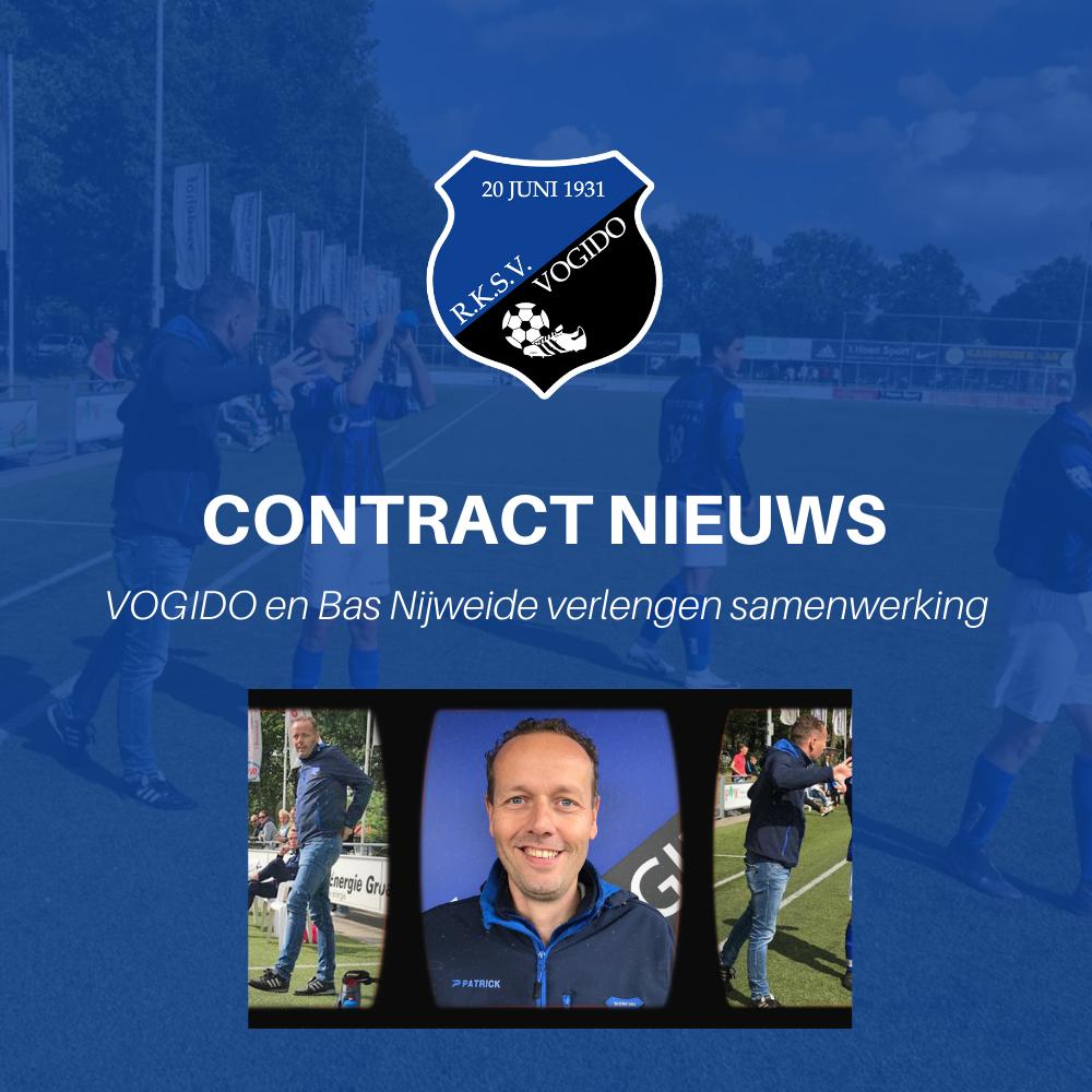 Verlenging contract Bas Nijweide