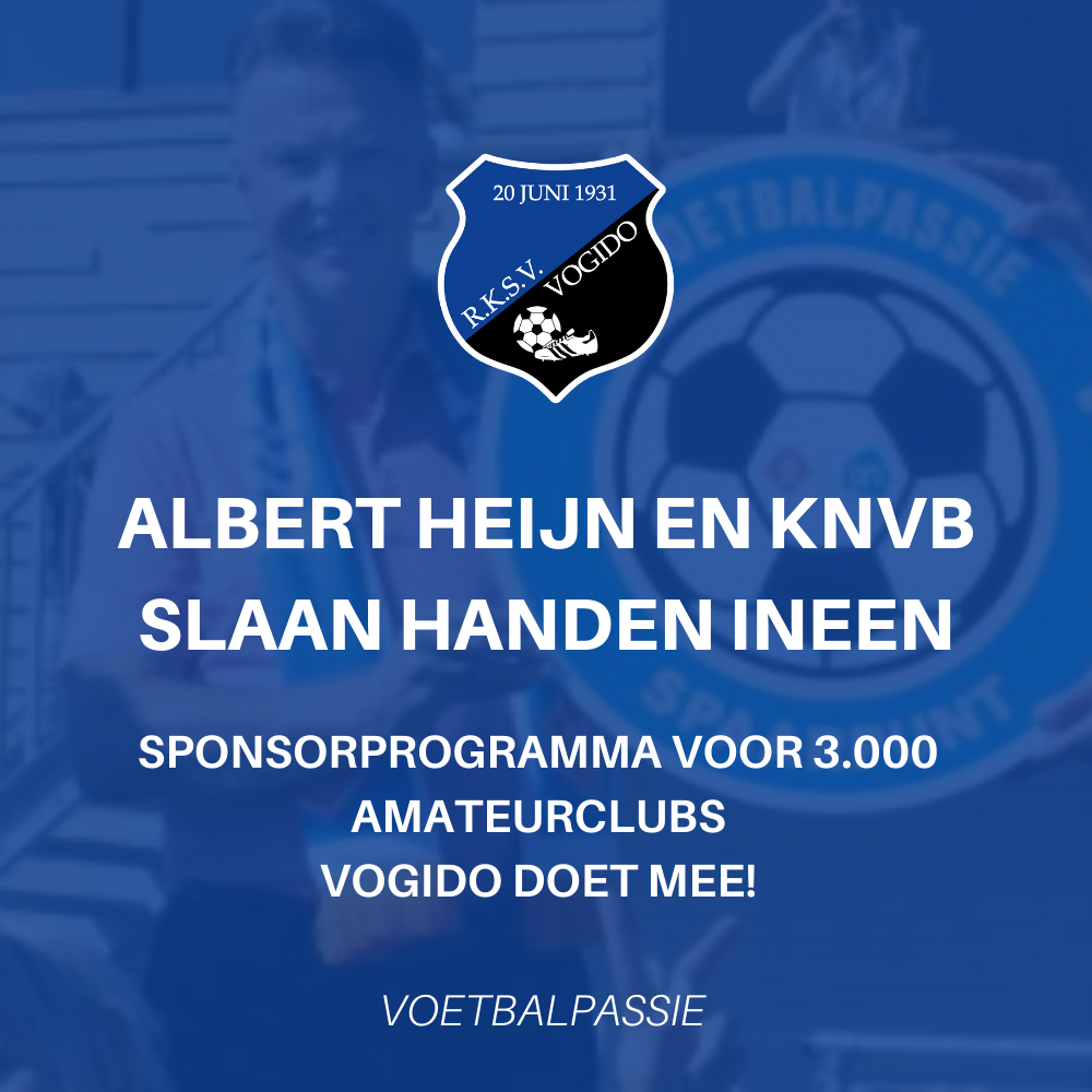 Albert Heijn en KNVB slaan handen ineen met sponsorprogramma