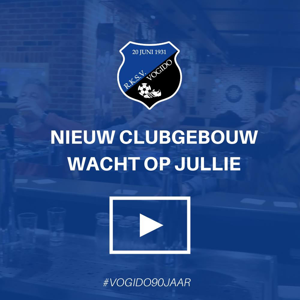 Het nieuwe clubgebouw wacht op jullie (video)