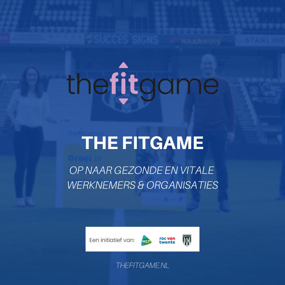 The Fitgame: Nieuw initiatief van topsport, zorg en onderwijs