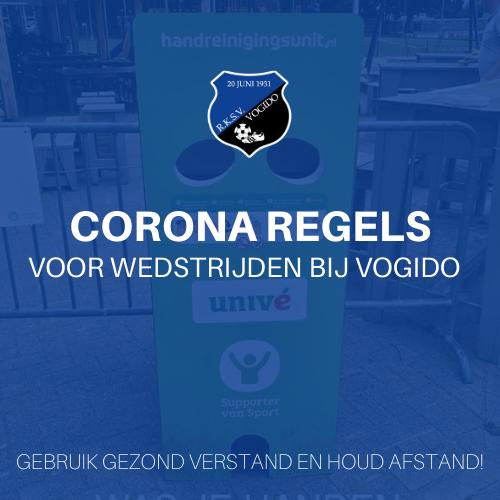 Corona VOGIDO regels