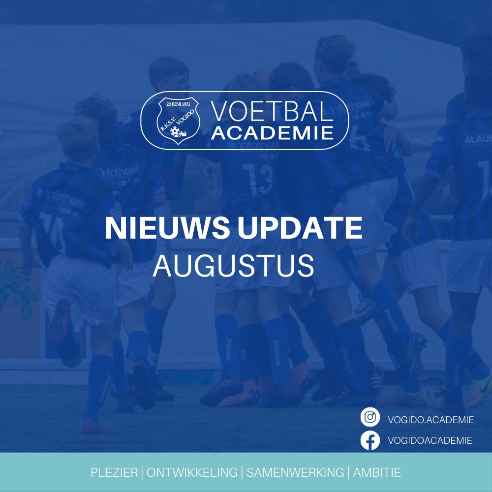 Nieuws update VOGIDO Academie Augustus 2021
