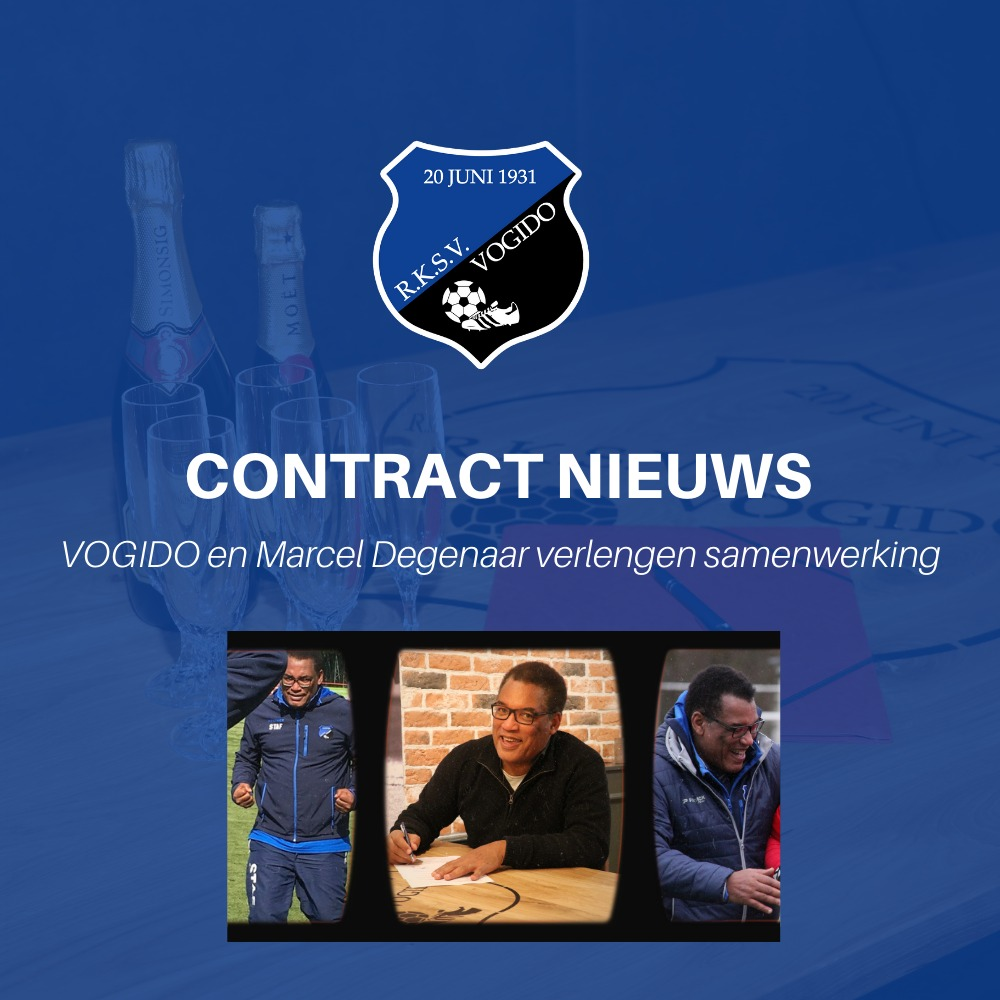 Contractverlenging hoofdtrainer Marcel Degenaar