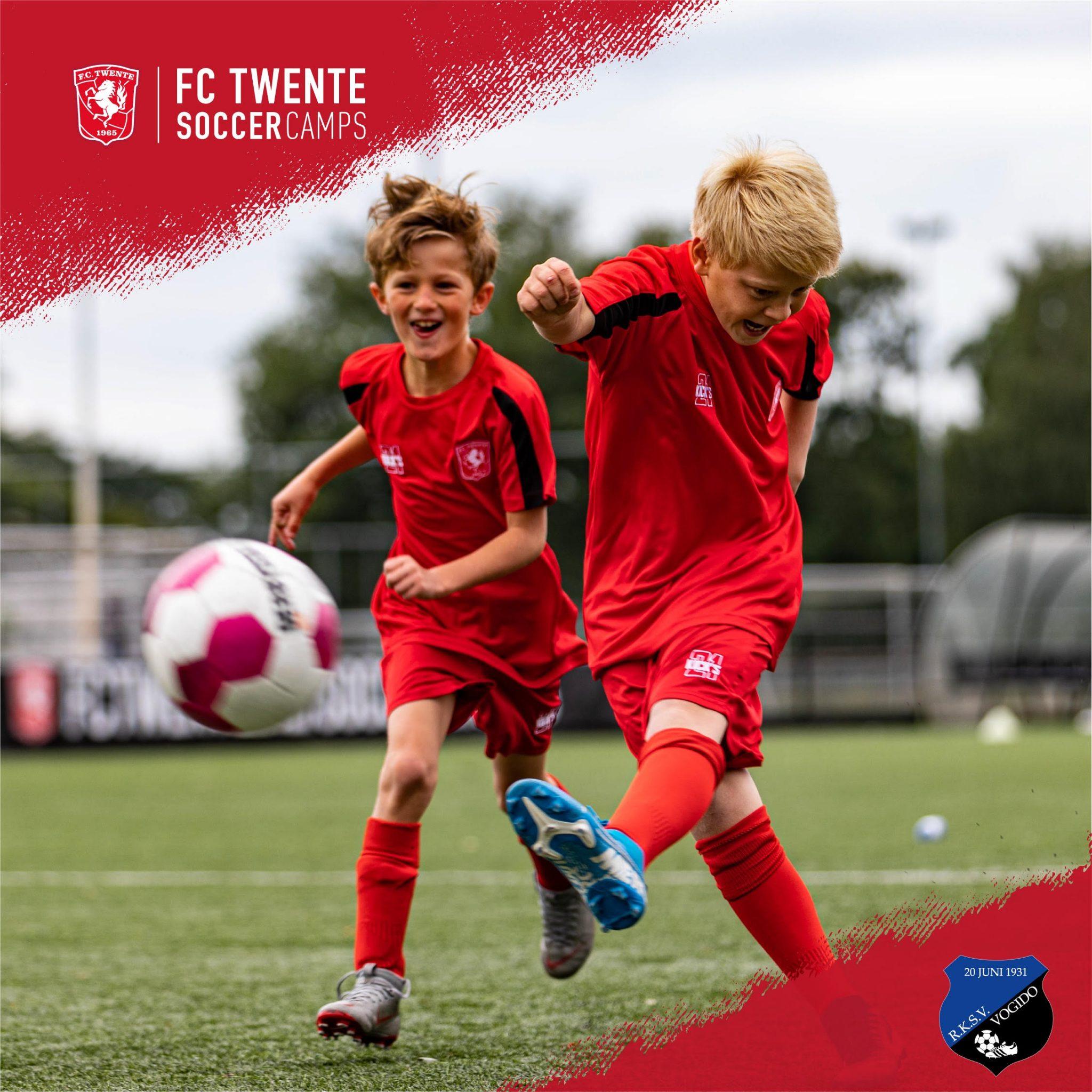 FC Twente Soccer Camp en Keeperskamp bij RKSV VOGIDO