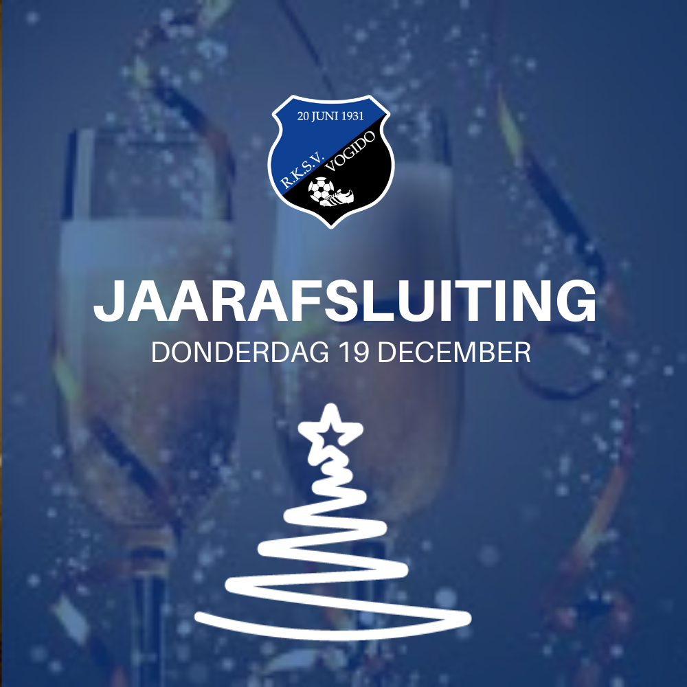 Uitnodiging Jaarafsluiting 19 december!