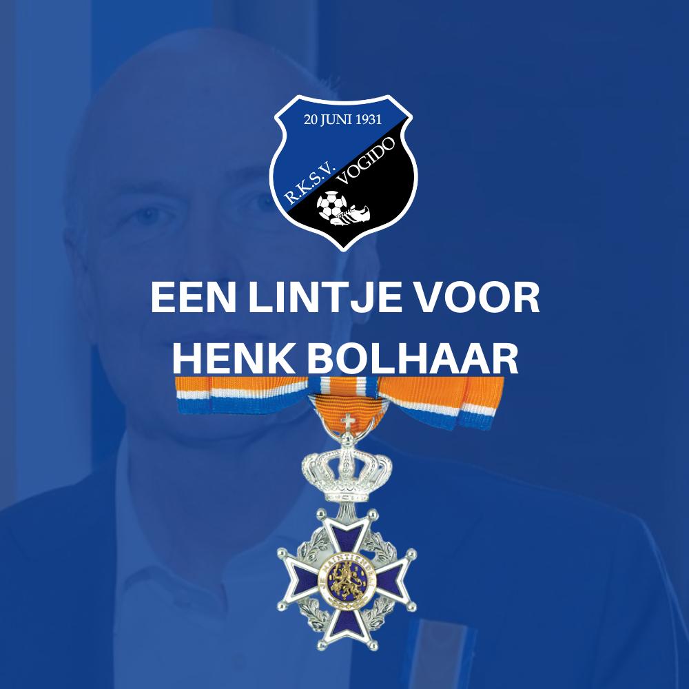 Koninklijke onderscheiding Henk Bolhaar