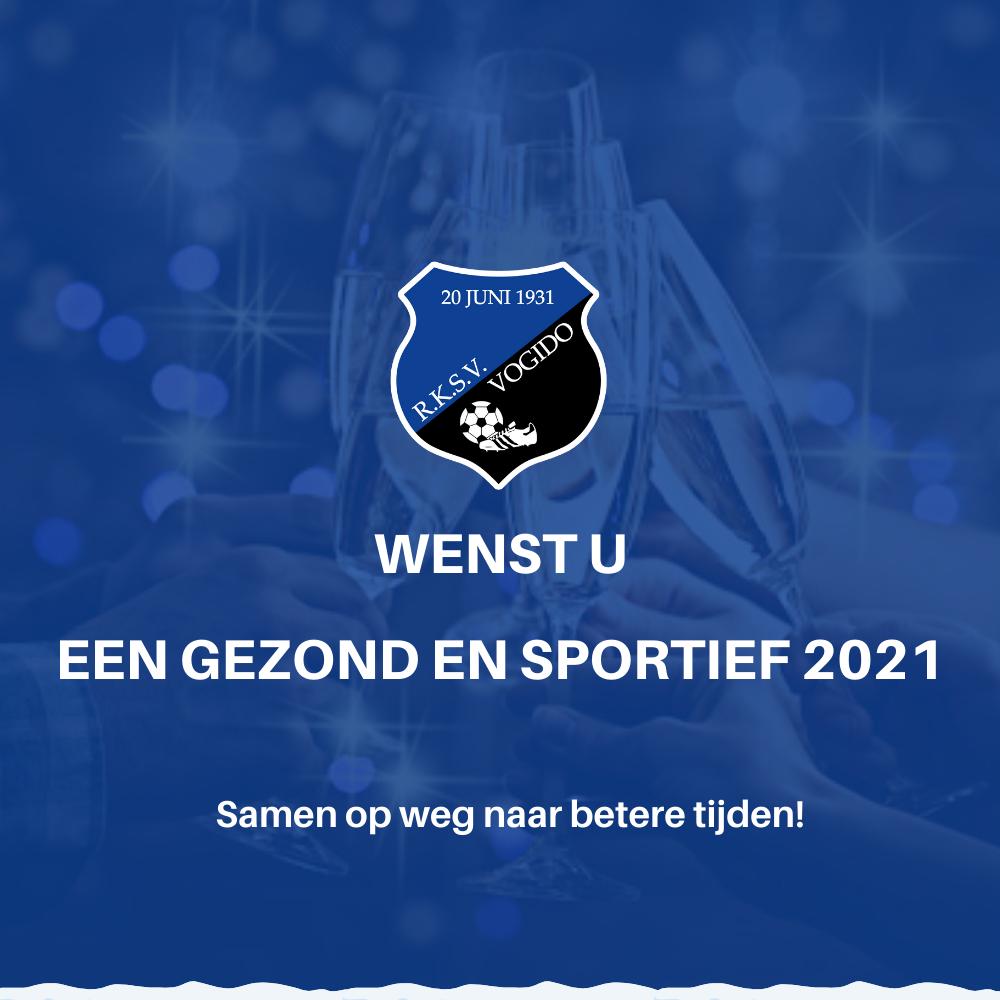VOGIDO wenst jou een gezond en sportief 2021