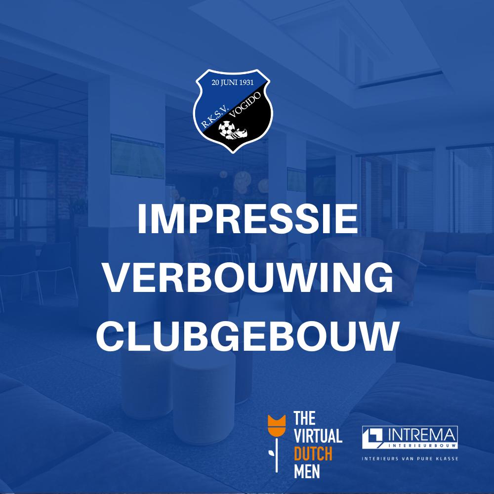Impressie verbouwing clubgebouw (3D)