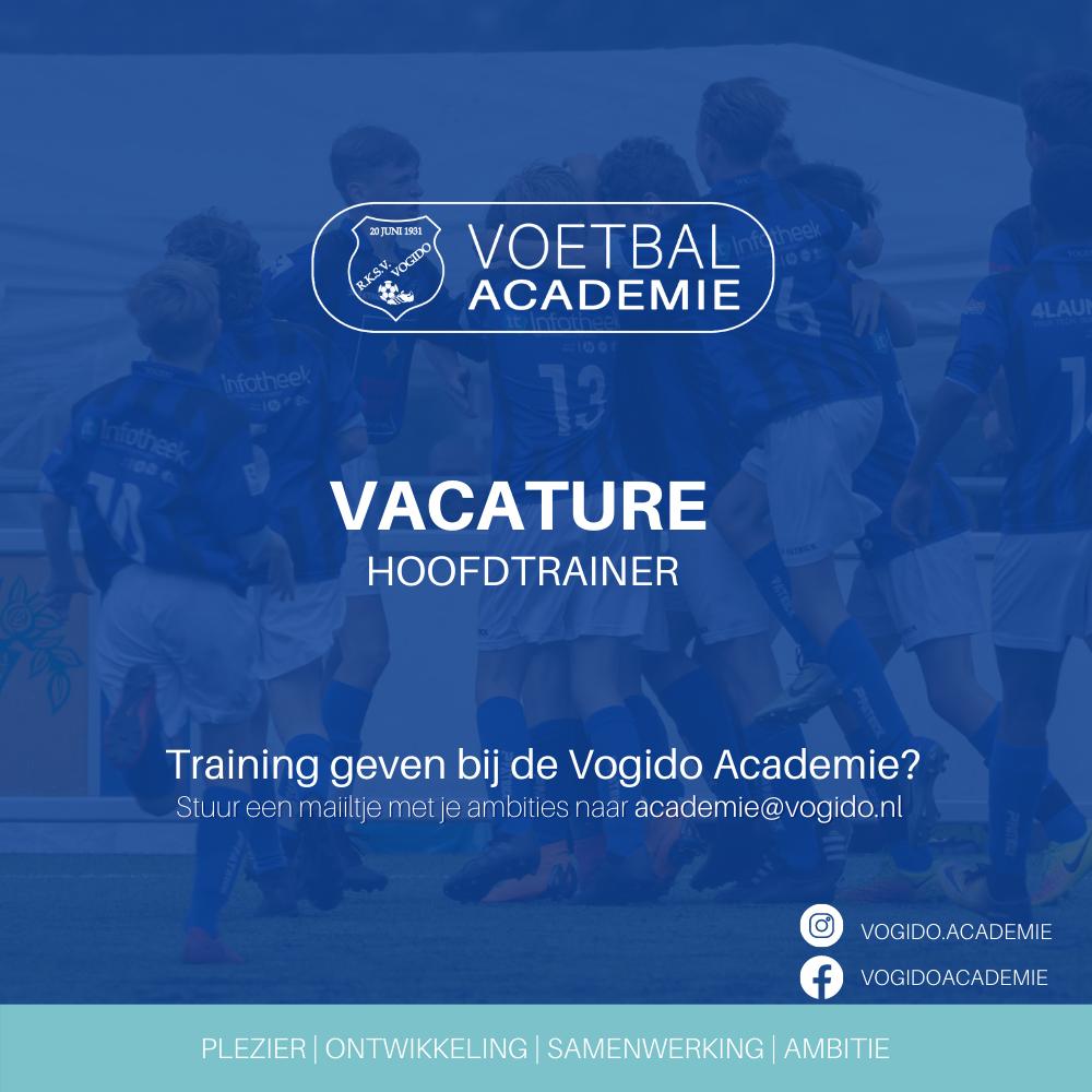 Hoofdtrainer Voetbal Academie